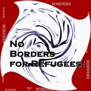 Keine Grenzen für Fluechtlinge