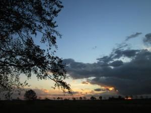 Oktoberwolken